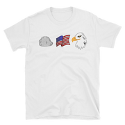 Rock , Flag and EAGLE,  - Sarx Clothing