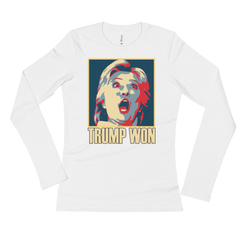 Trump Won  Long Sleeve T-Shirt,  - Sarx Clothing
