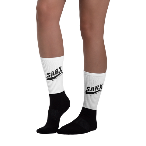 SarX line Black foot socks,  - Sarx Clothing