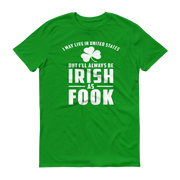 Irish as Fook Short sleeve t-shirt,  - Sarx Clothing