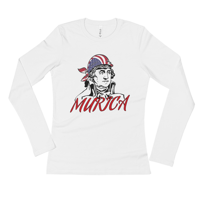 Washington Murica Long Sleeve T-Shirt,  - Sarx Clothing
