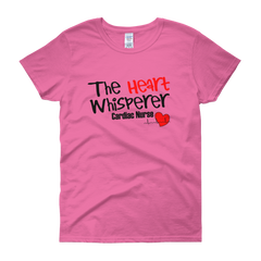 Heart Whisperer Women's short sleeve t-shirt,  - Sarx Clothing