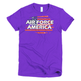 Air Force Short sleeve women's t-shirt,  - Sarx Clothing