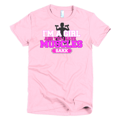 Im a Girl Short sleeve women's t-shirt,  - Sarx Clothing