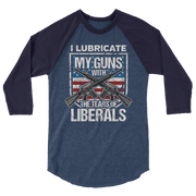 Lube my Guns sleeve raglan shirt,  - Sarx Clothing