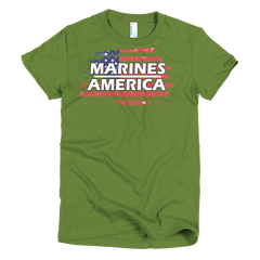 Marines Short sleeve women's t-shirt,  - Sarx Clothing