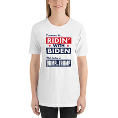 Id rather be Ridin with Biden...