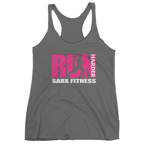 Run Harder Women's tank top,  - Sarx Clothing