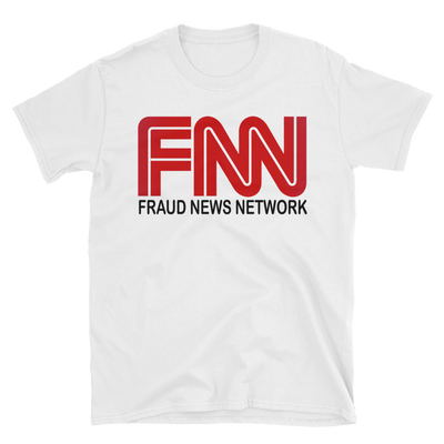 Fraud News Network T-Shirt,  - Sarx Clothing