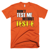 No Test Short sleeve men's t-shirt,  - Sarx Clothing