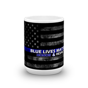 Blue Lives Matter Mug,  - Sarx Clothing