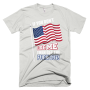Get out Short sleeve men's t-shirt,  - Sarx Clothing