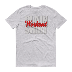 Plain Workout Short sleeve t-shirt,  - Sarx Clothing
