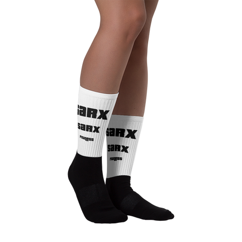 SarX Fitness Black foot socks - Sarx Clothing