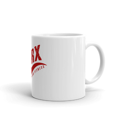 SarX red Swoosh Mug - Sarx Clothing