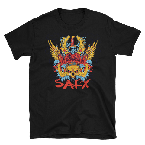 SarX Fitness (Color Skull)  T-Shirt,  - Sarx Clothing