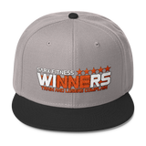 Winners Wool Blend Snapback - Sarx Clothing