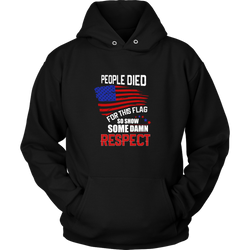 Respect Hoodie, T-shirt - Sarx Clothing