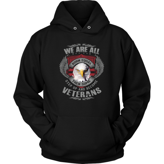 SarX We are born Veterans Hoodie, T-shirt - Sarx Clothing