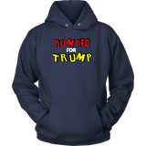 Pumped for Trump Hoodie, T-shirt - Sarx Clothing