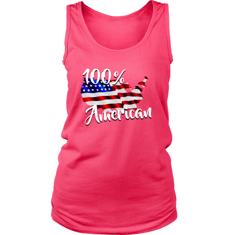 100% Womens Tank, T-shirt - Sarx Clothing
