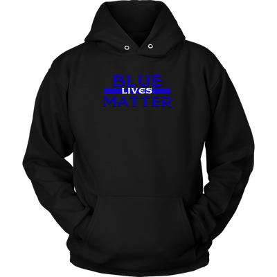 Blue Lives Hoodie, T-shirt - Sarx Clothing