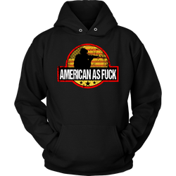 American as Fuck Logo, T-shirt - Sarx Clothing