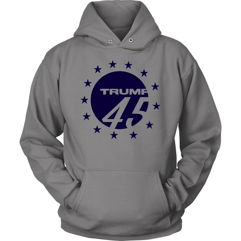 Trump 45, T-shirt - Sarx Clothing
