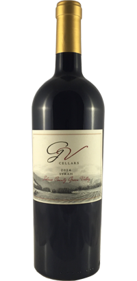 GV Cellars 2014 Syrah Green Valley Solano County