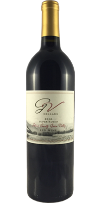 GV Cellars 2012 Super Rosso Green Valley Solano County