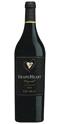 "GrapeHeart, ""The Beat"" 2011 (Red Blend)"