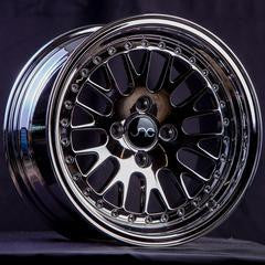 JNC001 Black Chrome 15 x 8