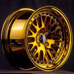 JNC001 Gold Chrome 15 x 8