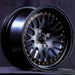 JNC001 Matte Black w/ Gold Rivets 15 x 8