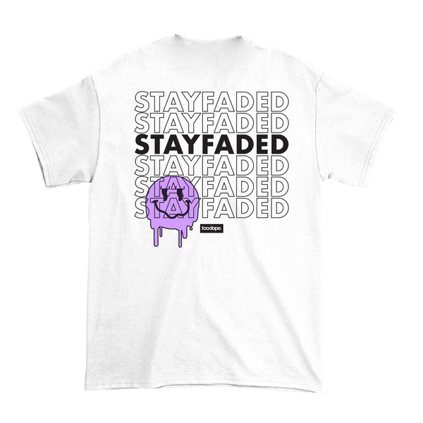 Stay Faded Tee (White)