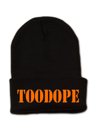 Solid Beanie (Black)