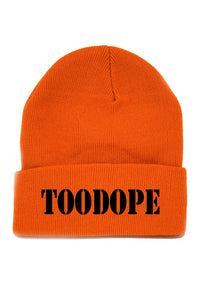 Solid Beanie (Orange)