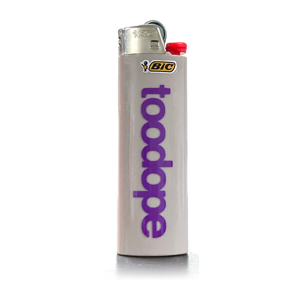 TooDope BIC Lighter Gray