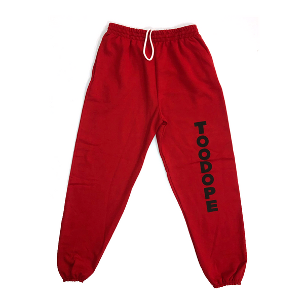 TooDope Sweatpant (Red)