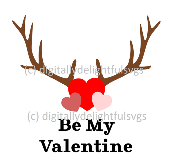 Be My Valentine svg