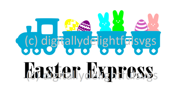 Easter Express svg