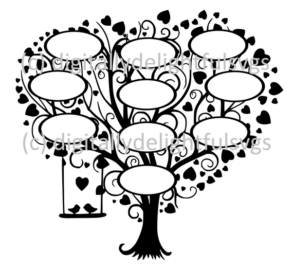 Family Tree 10 svg