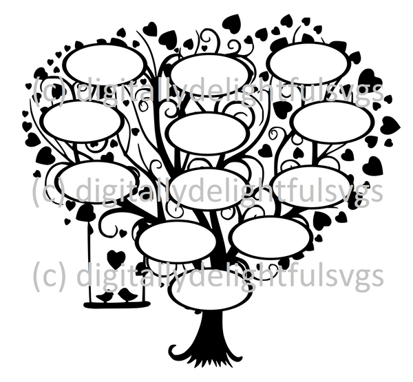 Family Tree 12 svg