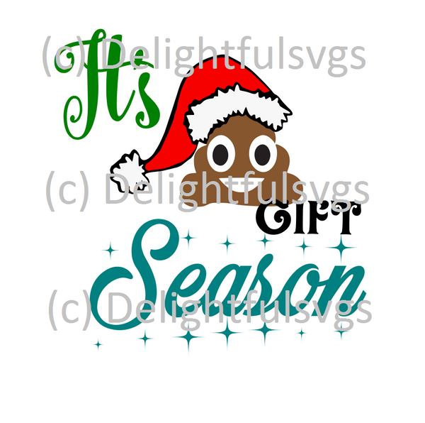It's crappy gift season svg