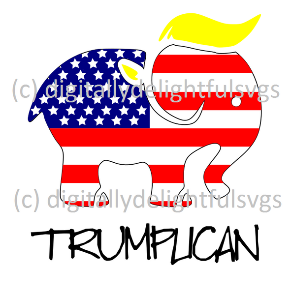 Trumplican svg  FREE FOR A LIMITED TIME ONLY!!!