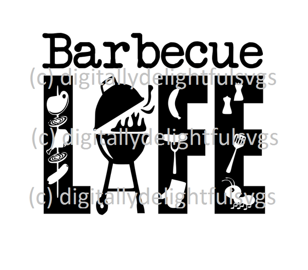 Barbecue Life svg