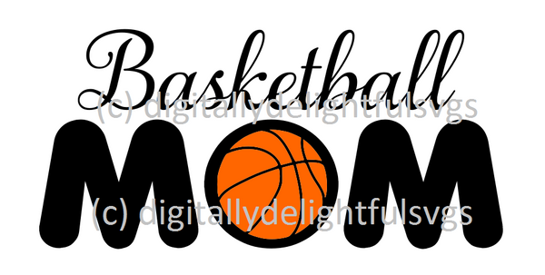 Basketball mom 2 svg