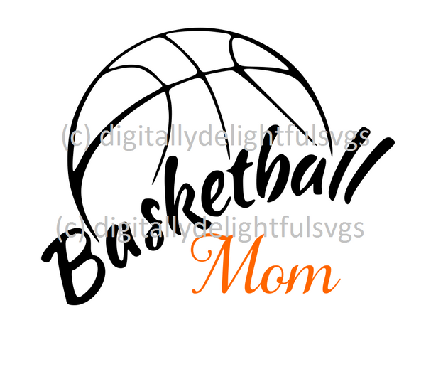 Basketball mom 3 svg
