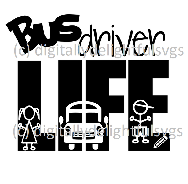Bus Driver Life svg
