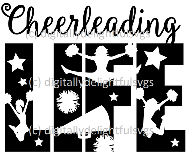 Cheerleading Life svg
